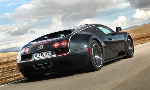 New Bugatti Veyron 'Chiron'; 500km/h speedo, within 20L/100km