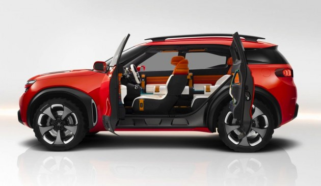 Citroen Aircross concept-doors