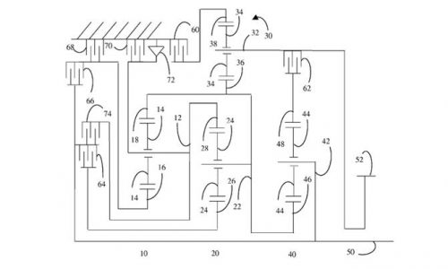 Ford patents 11-speed auto, could be used in future models