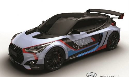 Hyundai Veloster RM15 mid-engine concept revealed
