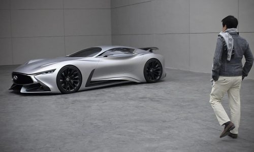 Infiniti unveils stunning real-life Vision GT concept