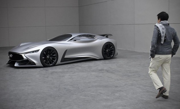 Infinti Vision GT concept-real