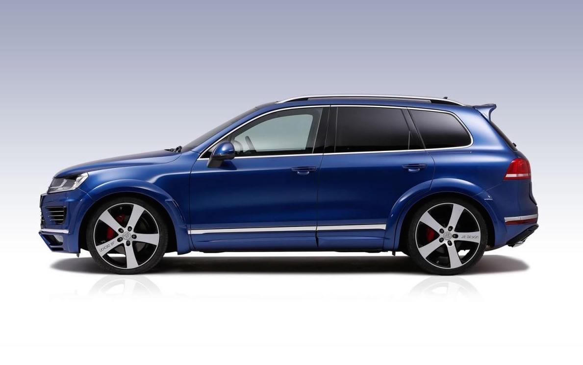JE Design tunes new VW Touareg V8 TDI; torque monster ...