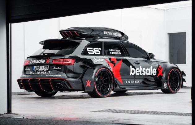 Jon Olsson Audi RS 6-2015 Gumball 3000