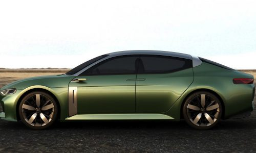 Kia Novo concept previews future compact car design direction
