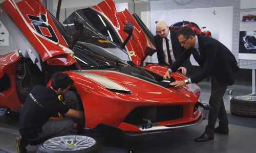 Video: Ferrari shows how it came up with the FXX K design