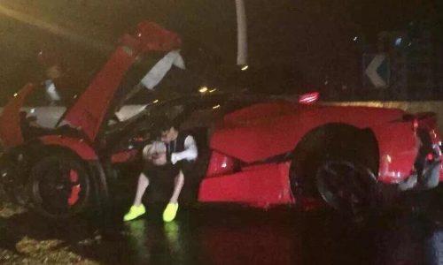 Teenager crashes LaFerrari in China, heavy damage