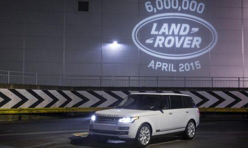 Land Rover passes 6 million production milestone