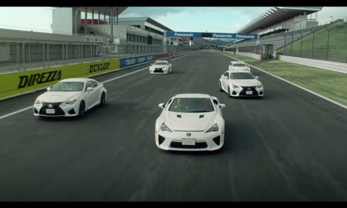 Video: Lexus RC F joins LFA for some track fun
