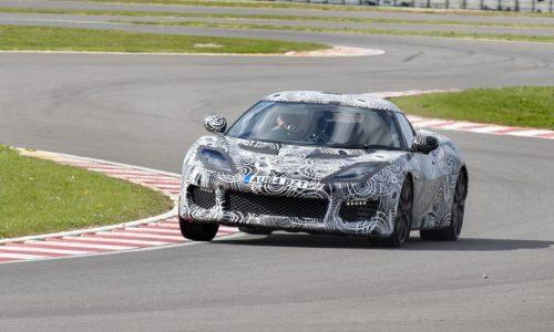 New Lotus Evora 400 laps test track 6sec faster than Evora S