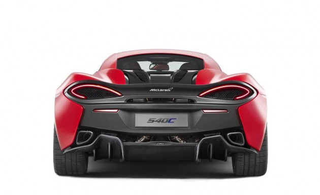 McLaren 540C-rear