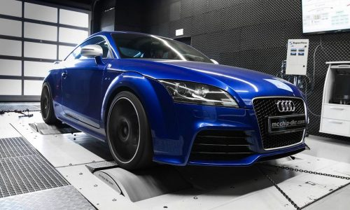 Audi TT RS tuning kit by Mcchip-dkr boosts power to 348KW