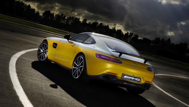 Mercedes-AMG GT S-rear