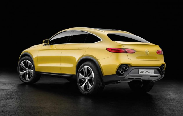 Mercedes-Benz GLC Coupe-back