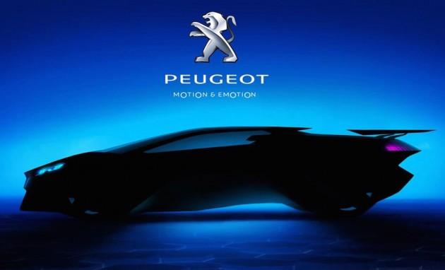 Peugeot supercar-Vision GT