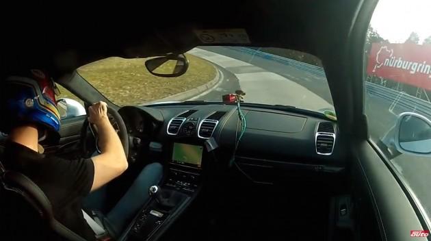Porsche Cayman GT4-Nurburgring