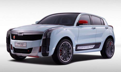 Qoros 2 PHEV concept unveiled at 2015 Auto Shanghai