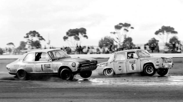 Rallycross Australia-Peter Brock and Bob Watson
