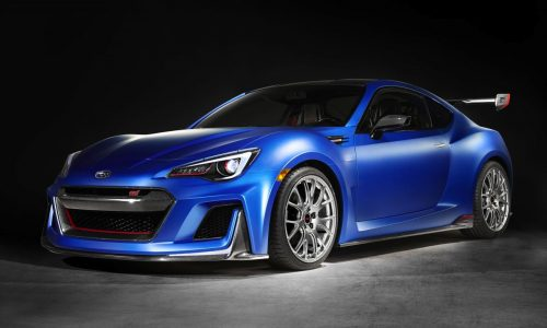 Subaru unveils racy BRZ STI Performance Concept