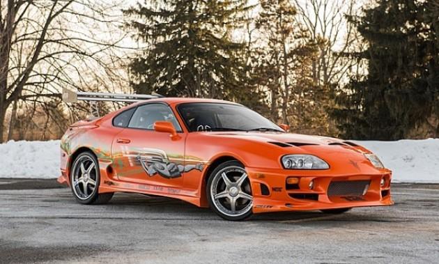 Toyota Supra Fast and Furious-Paul Walker