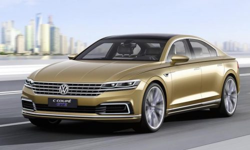 Volkswagen goes smart & suave with C Coupe GTE concept