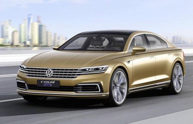 Volkswagen C Coupe GTE concept-driving