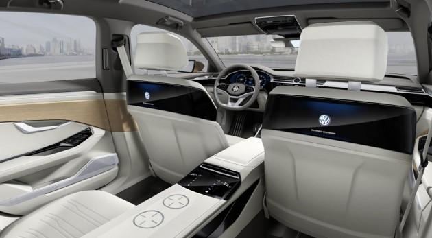 Volkswagen C Coupe GTE concept-rear screens