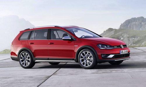 Volkswagen Golf SportWagen Alltrack confirmed for US market