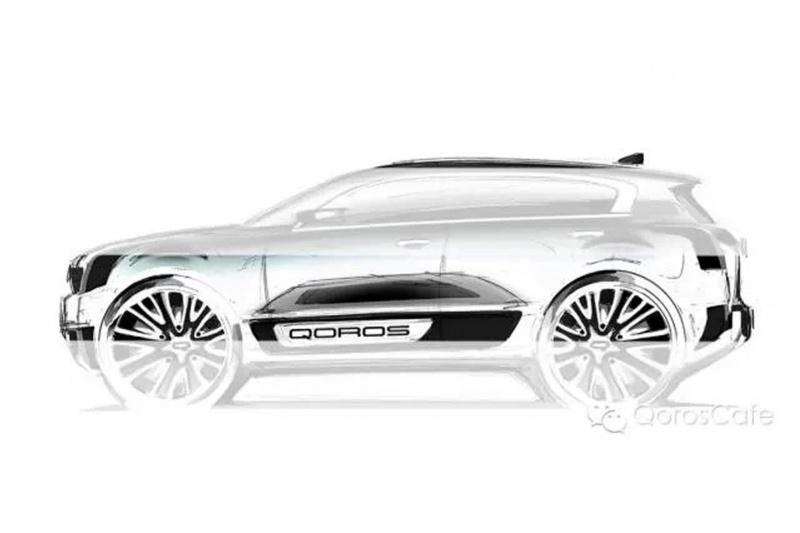 Qoros 2 SUV previewed before Shanghai debut