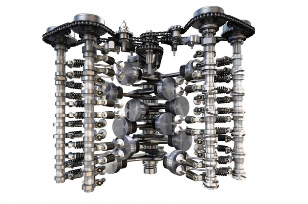 2015 6.0 W12 Bentley engine