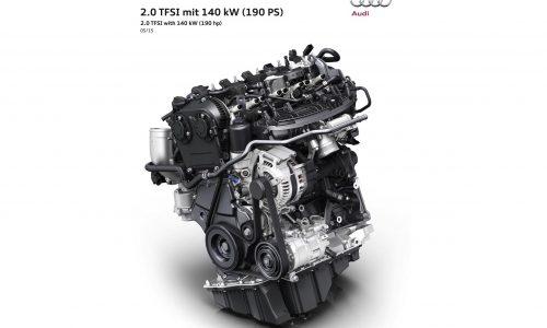 Audi debuts new 2.0 TFSI engine, uses 'rightsizing' philosophy