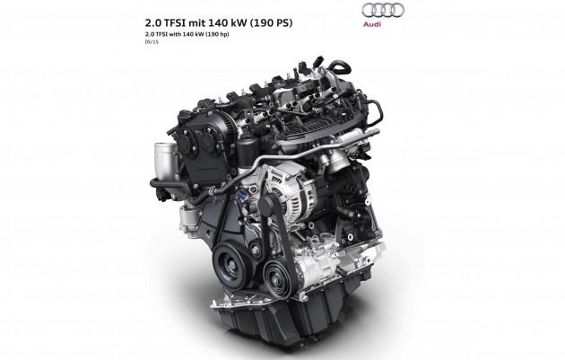 2015 Audi 2.0TFSI engine