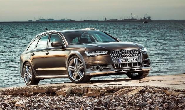 2015 Audi A6 allroad-front
