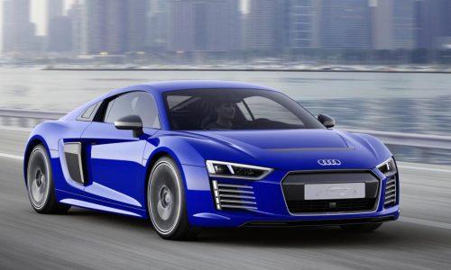 Audi unveils autonomous R8 e-tron technical concept