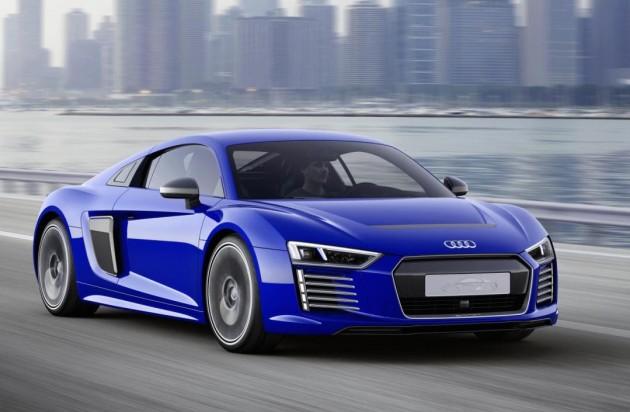 2015 Audi R8 e-tron autonomous concept