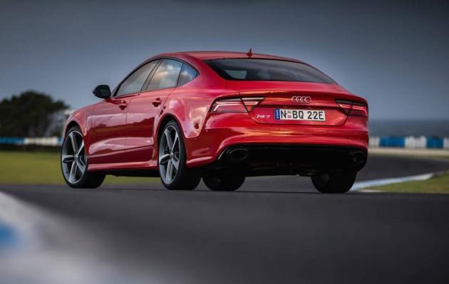 2015 Audi RS 7 rear