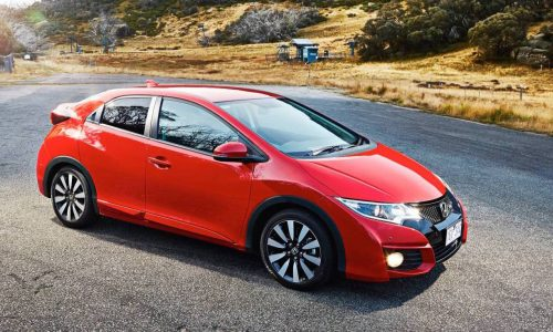 2015 Honda Civic hatch facelift now on sale in Australia
