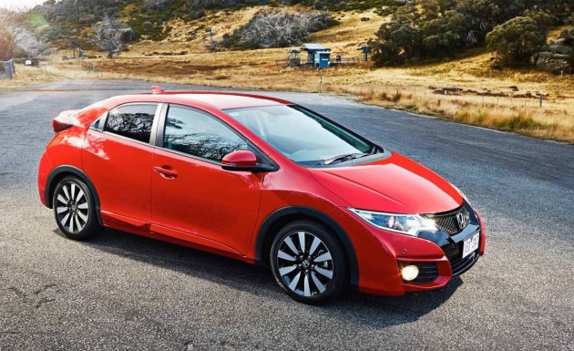 2015 Honda Civic VTi-L-red