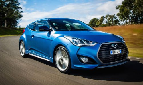 Hyundai Veloster Series II on sale in Australia from $24,490