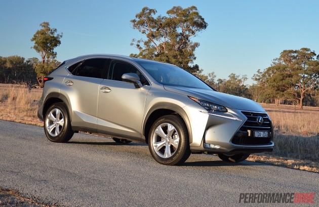 2015 Lexus NX200t-Australia
