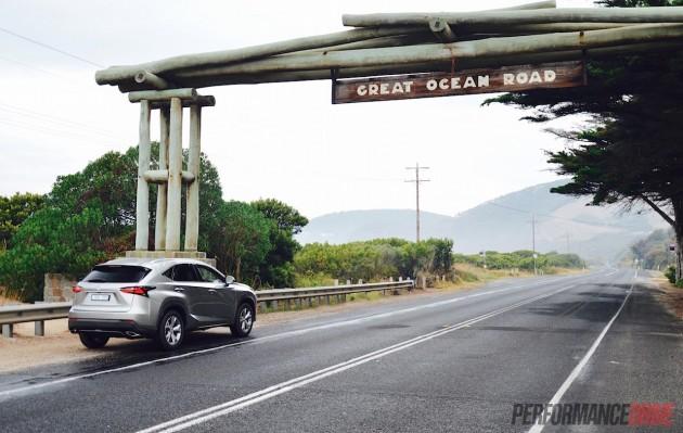 2015 Lexus NX200t-Great Ocean Road