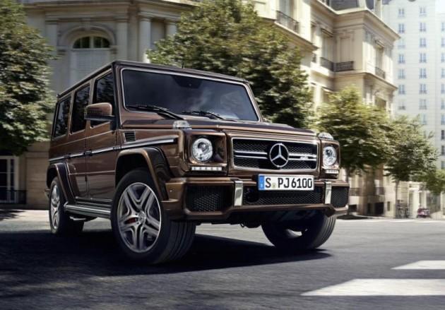 2015 Mercedes-Benz G-Class facelift