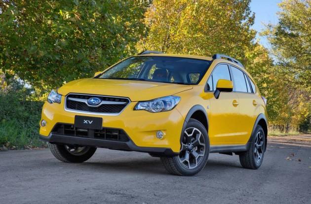2015 Subaru XV Sunshine Yellow edition