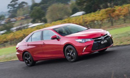 New-look 2015 Toyota Camry on sale in Australia from $26,490