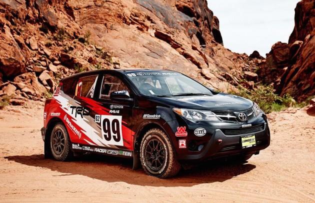 2015 Toyota RAV4 Rally America