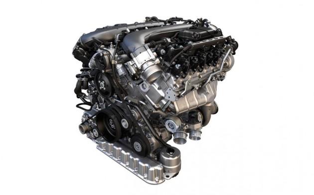 2015 Volkswagen 6.0 W12 Bentley engine