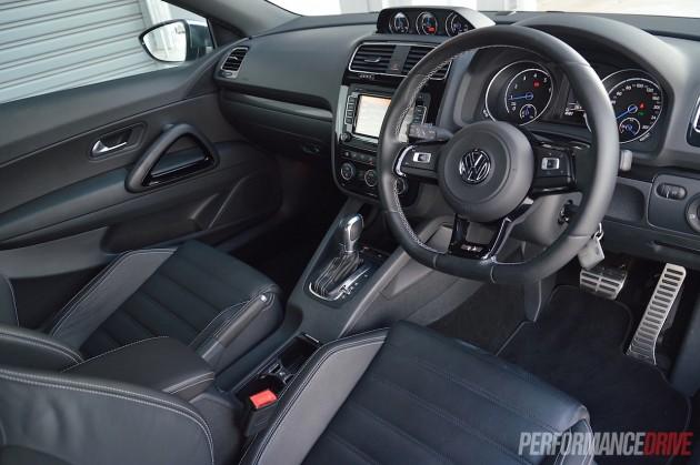 2015 Volkswagen Scirocco R-interior