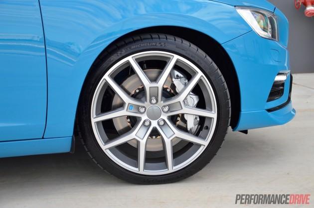 2015 Volvo V60 Polestar-20in wheels