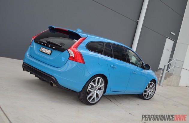 2015 Volvo V60 Polestar-rear