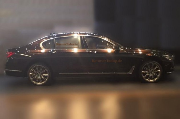 2016 BMW 7 Series spotted